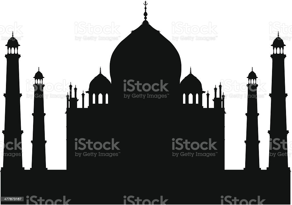 royalty free taj mahal clip art vector images illustrations istock rh istockphoto com taj mahal clipart free India Clip Art