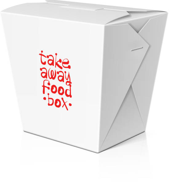 take away food, noodle box - chinese food stock illustrations, clip art, cartoons, & icons