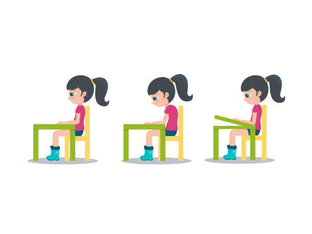 Tenga cuidado de espalda - ilustración de arte vectorial