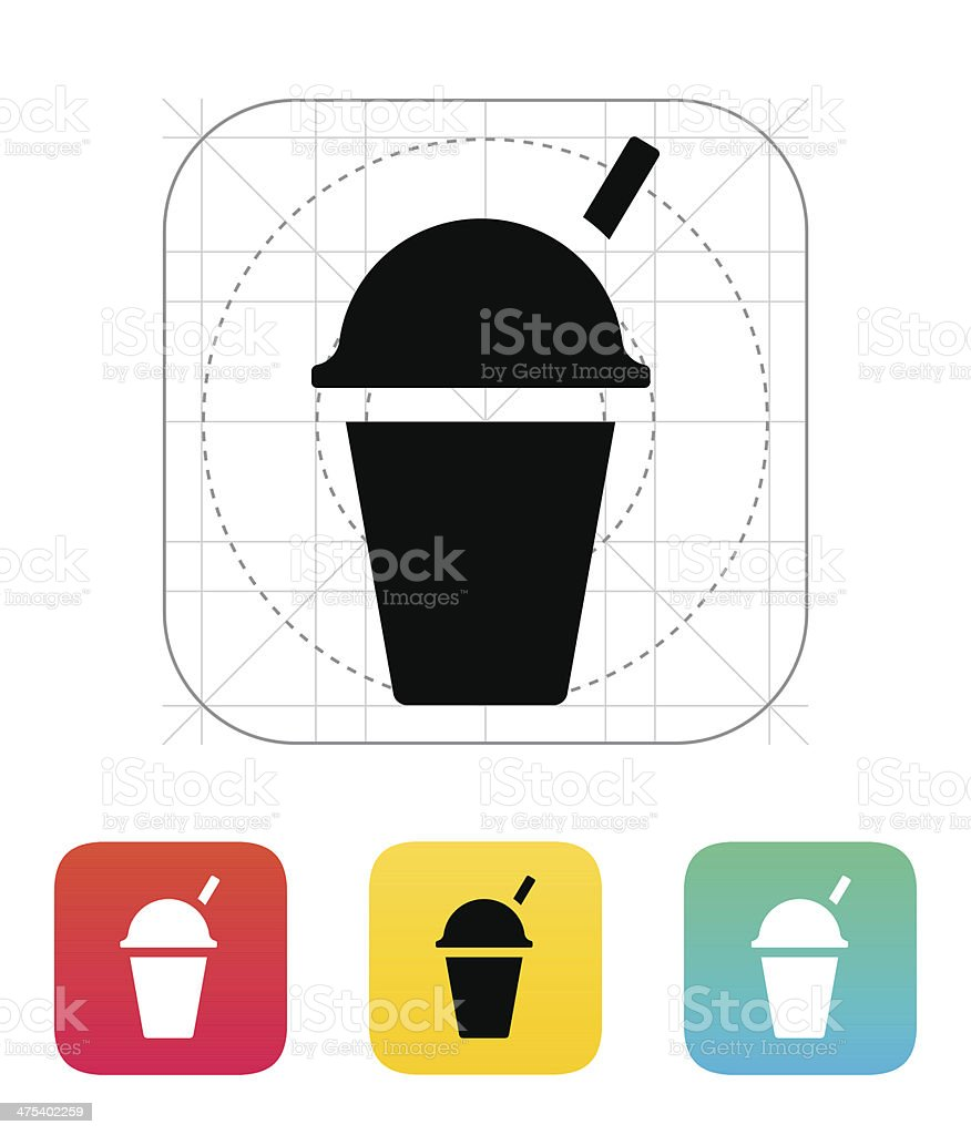 Takeaway cup icon. royalty-free takeaway cup icon stock vector art & more images of black color