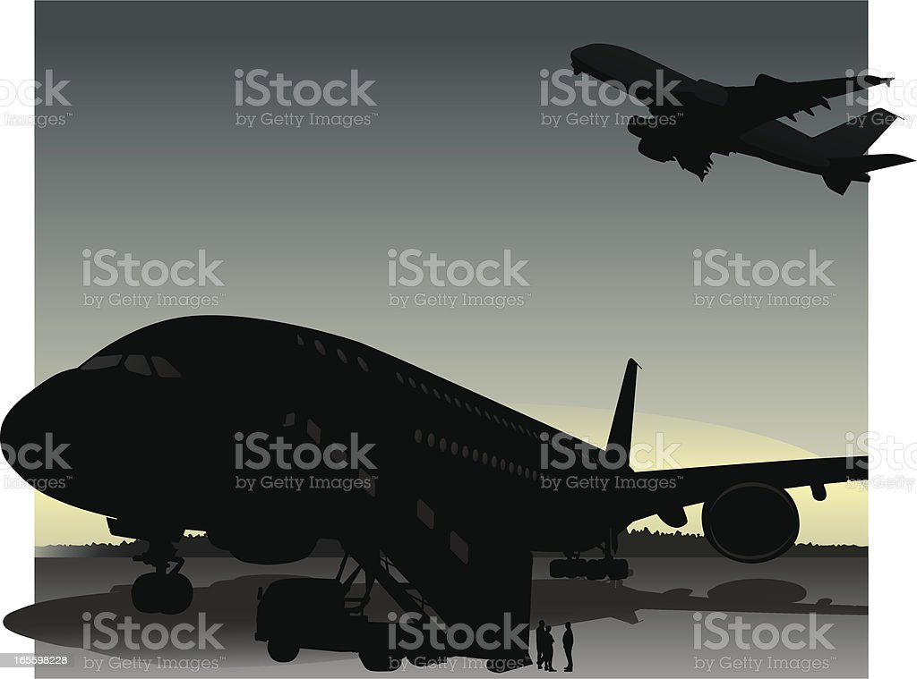 Toma vuelo - ilustración de arte vectorial