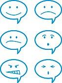Talk Bubble Faces
