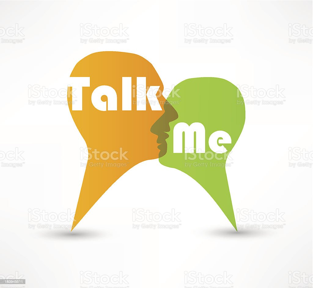 Talk me concept speech bubbles royalty-free talk me concept speech bubbles stock vector art & more images of abstract