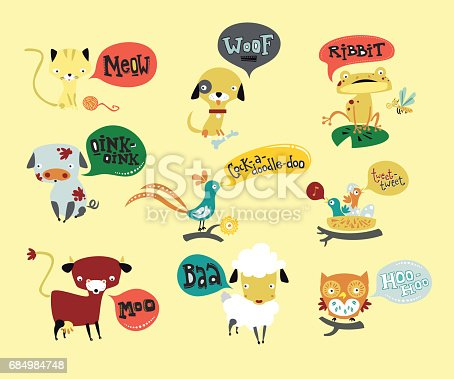 istock Talking animals 684984748