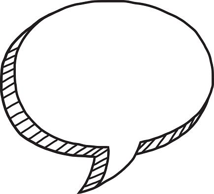 Talking Speech Bubble Stock Illustration - Download Image ... (435 x 396 Pixel)