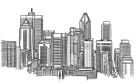 Tall Buildings Urban Landscape