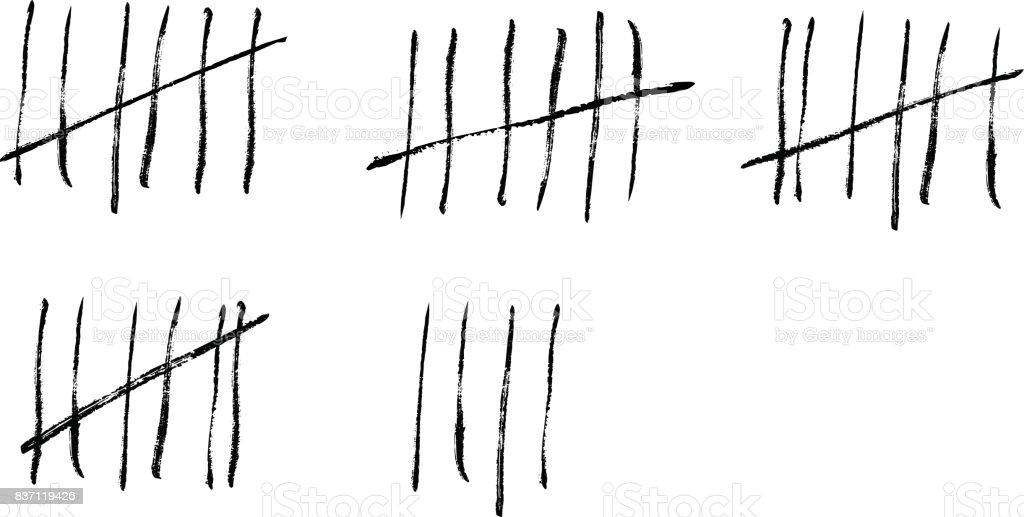 Popular 1 - NO ME JUDAS SATANAS - Página 17 Tally-marks-on-a-prison-wall-vector-illustration-vector-id837119426