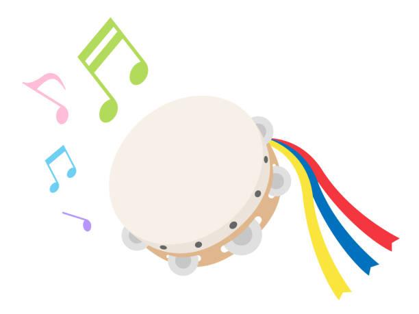 stockillustraties, clipart, cartoons en iconen met tamboerijn - tamboerijn