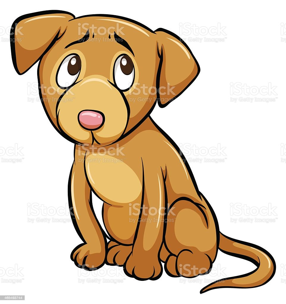 royalty free scared dog clip art vector images illustrations istock rh istockphoto com