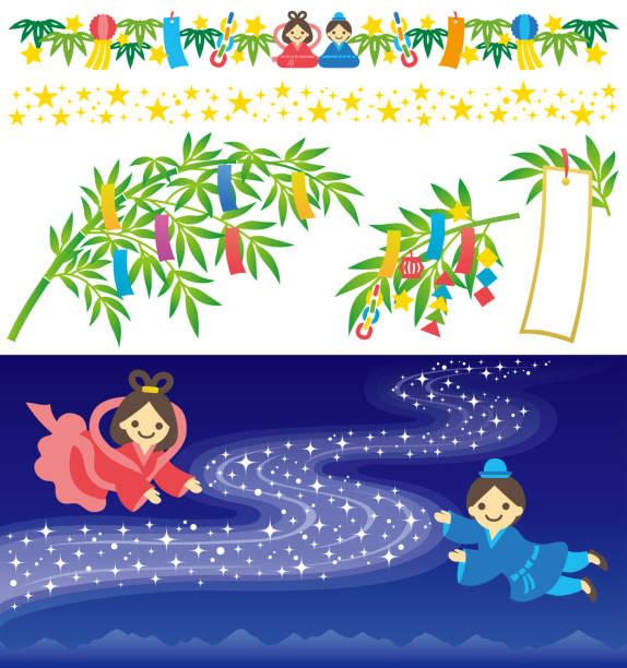 七夕祭 - 七夕点のイラスト素材/クリップアート素材/マンガ素材/アイコン素材