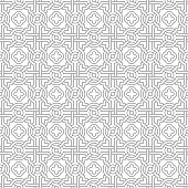 Tangled Pattern with Quatrefoils