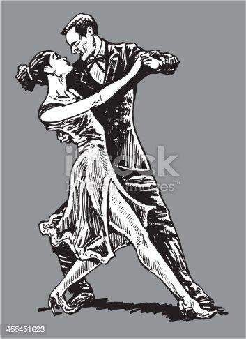 istock Tango Dancers 455451623