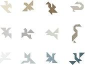 Tangram Birds Set   002