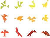 Tangram Birds Set   003