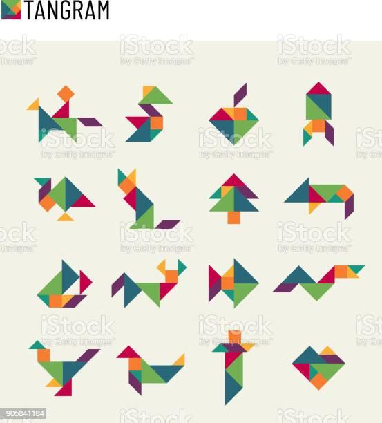 Tangram children brain game cutting transformation puzzle vector set vector id905841184?b=1&k=6&m=905841184&s=612x612&h=fmbgz9hm33fm5sj6ja0sxqmbhibnxdyf0yeaakmskwu=