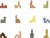 Tangram House Icon