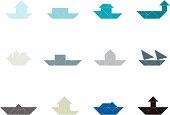 Tangram Ship Set   001
