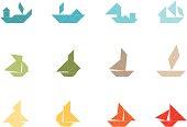 Tangram Ship Set   002