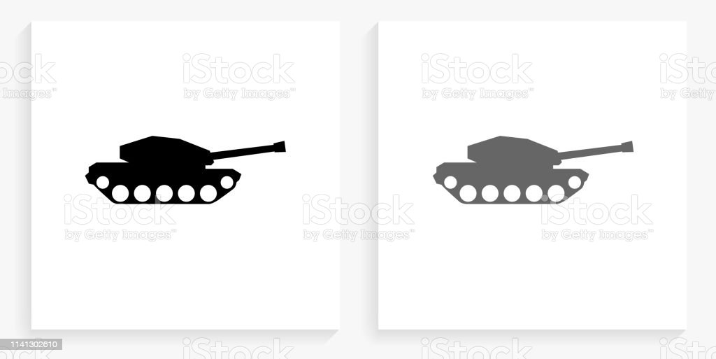 tank black and white square icon stock illustration download image now istock https www istockphoto com vector tank black and white square icon gm1141302610 305711330