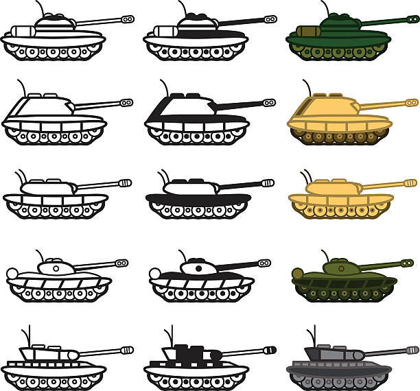 Best Ww2 Tank Illustrations, Royalty-Free Vector Graphics
