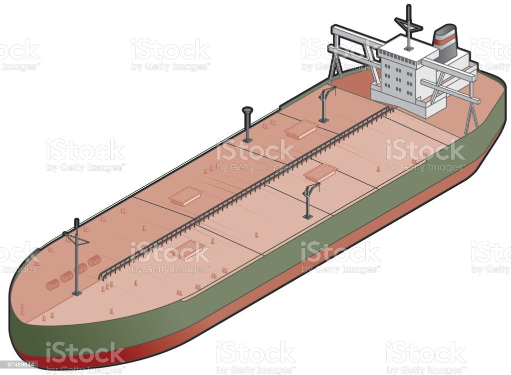 Tanker Ship Icon. Design Elements royalty-free tanker ship icon design elements stock vector art & more images of boat deck