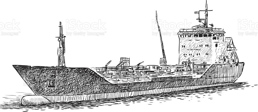 tanker royalty-free tanker stock vector art & more images of cargo container