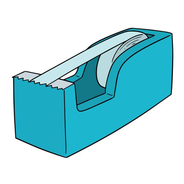 Royalty Free Packing Tape Dispenser Clip Art, Vector ...