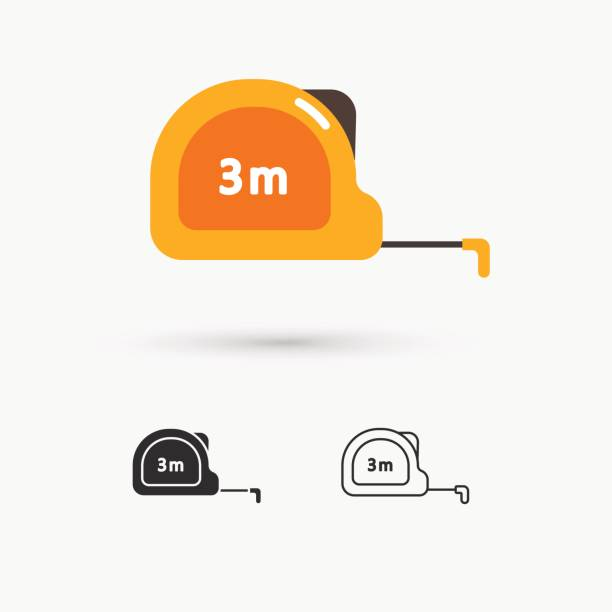 Royalty Free Tape Measure Clip Art Vector Images Illustrations