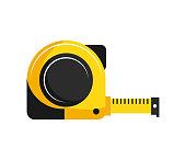istock tape measure icon. vector 1226512734