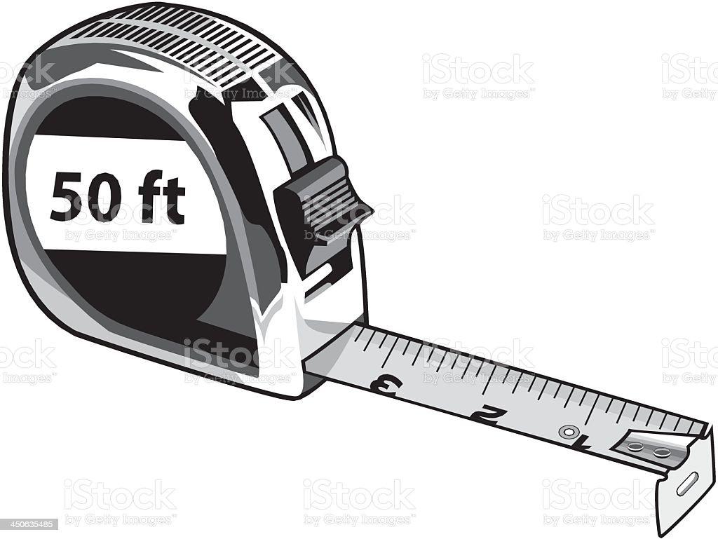 Tape Measure stock vector art 450635485   iStock