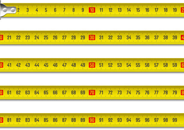 Royalty Free Measuring Tape Clip Art, Vector Images ...
