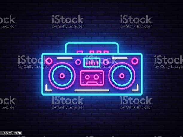 Tape recorder neon signboard vector retro music neon glowing symbol vector id1007412478?b=1&k=6&m=1007412478&s=612x612&h=zcuhd4hjx3cuf536p9unxjgzrbqx7ceonre8vae4ihs=