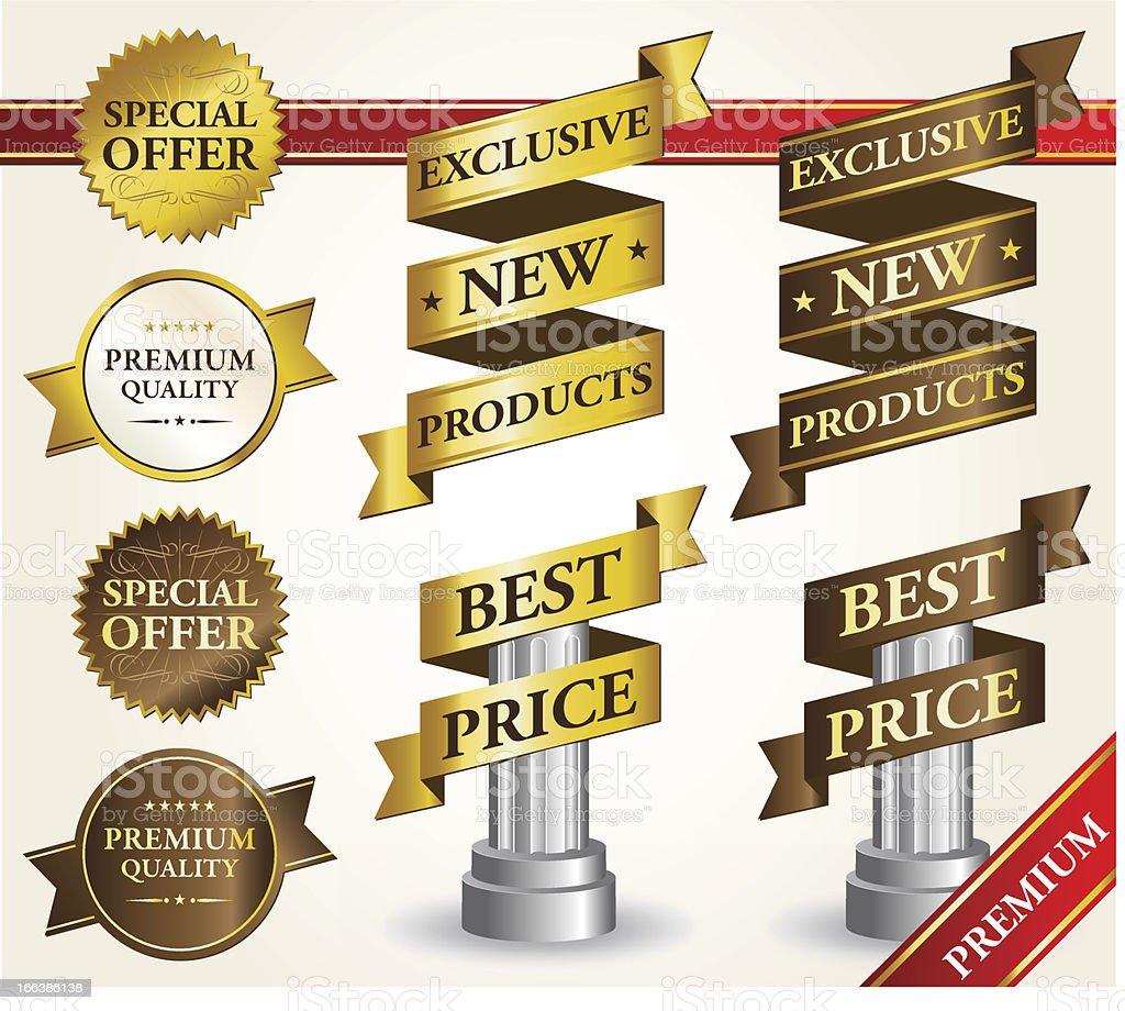 Conjunto de cinta y etiquetas royalty-free conjunto de cinta y etiquetas stock vector art & more images of advertisement
