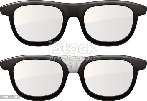istock Taped Glasses 455438087