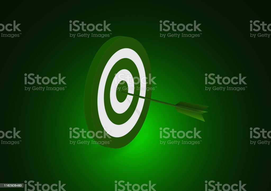 Target and arrow icon. Business target concept. Achievements and...