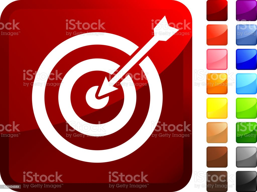 target and arrow internet royalty free vector art royalty-free stock vector art