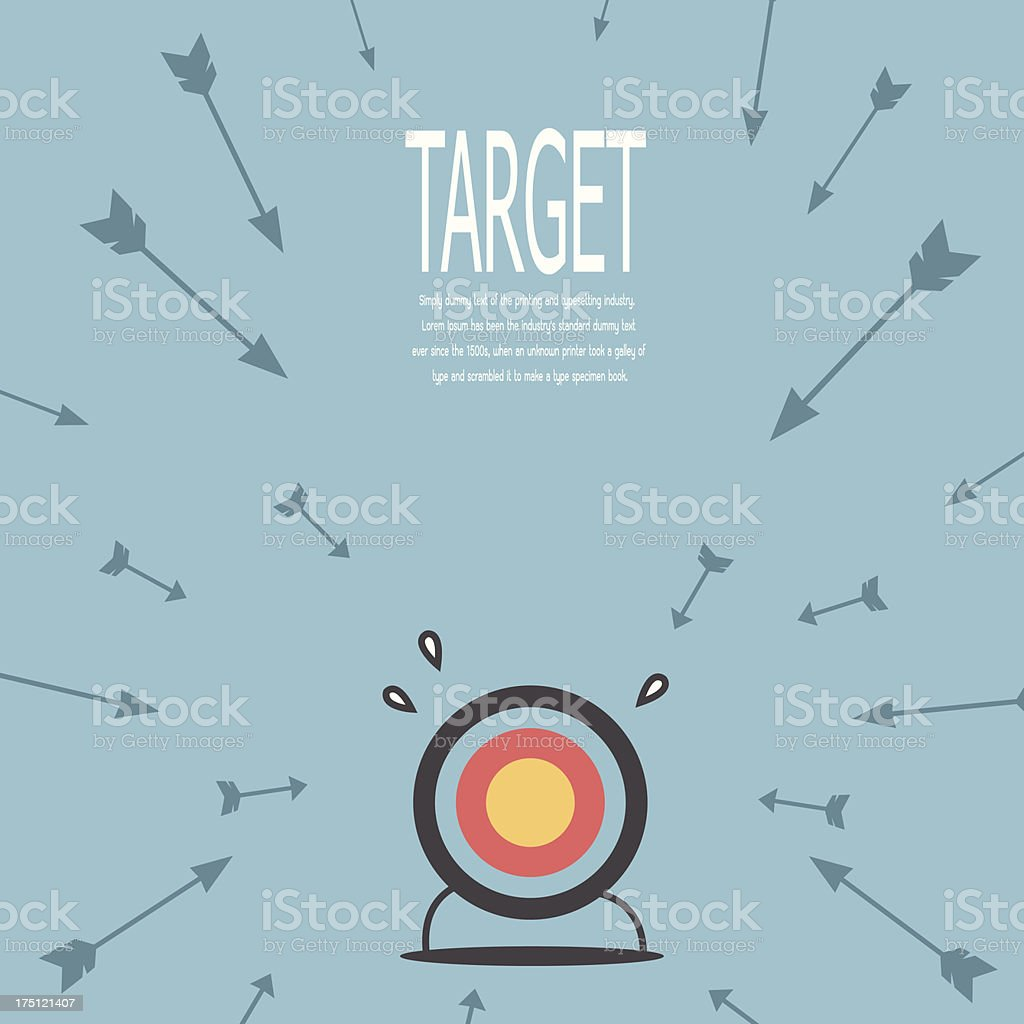 Target and arrow royalty-free target and arrow stock vector art & more images of accuracy