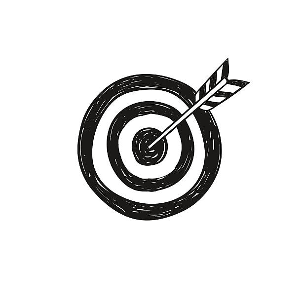 Archery Target Illustrations Royalty Free Vector Graphics