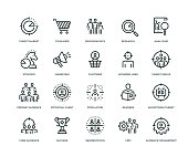 Target Audience Icons - Line Series