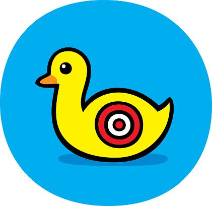 Target Duck Doodle