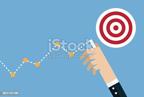 Sports Target, Finish Line, Human Hand, Success, Aspirations