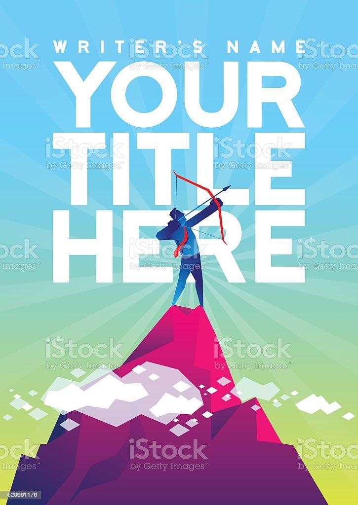 Target higher print design vector art illustration