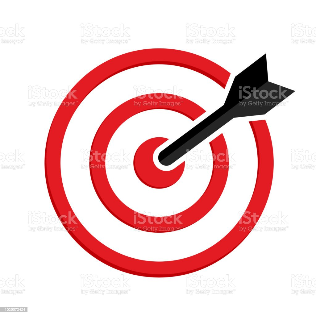 target icon red aim black arrow vector illustration stock illustration download image now istock target icon red aim black arrow vector illustration stock illustration download image now istock
