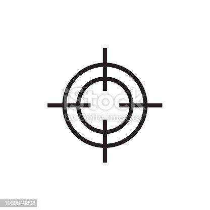 istock Target icon Vector EPS10 1039540898