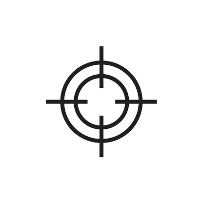 Target icon Vector EPS10