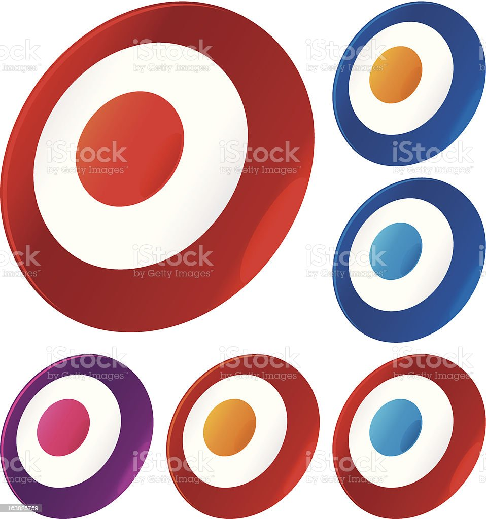 target icon royalty-free target icon stock vector art & more images of accuracy
