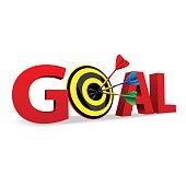 Target in word goal