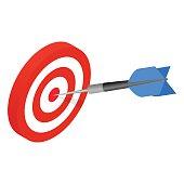 Target isometric icon