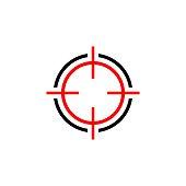 istock Target Sign Logo Template Illustration Design. Vector EPS 10. 1223200444