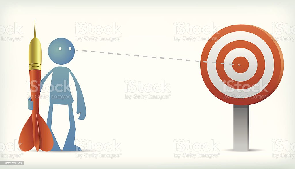 Target to win royalty-free target to win stock vector art & more images of aspirations